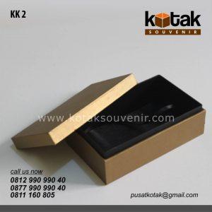 kotak kado warna emas premium
